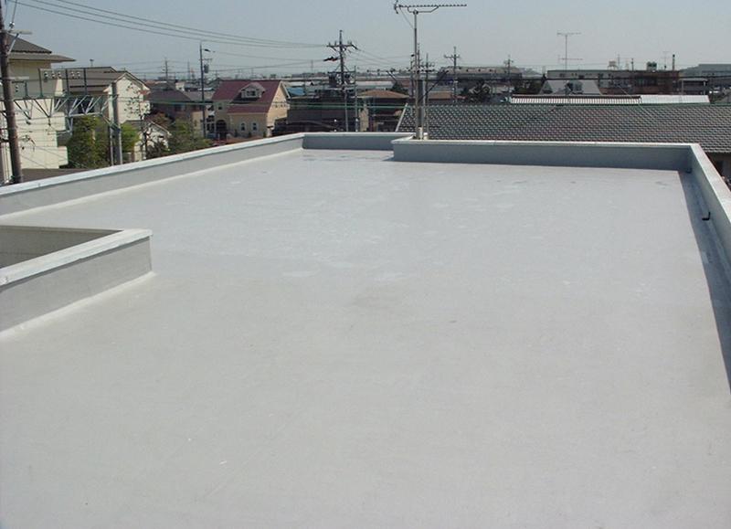 屋上防水工事 施工後