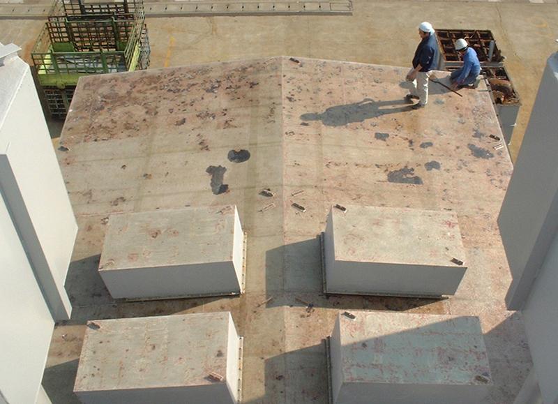工場屋根防食施工前