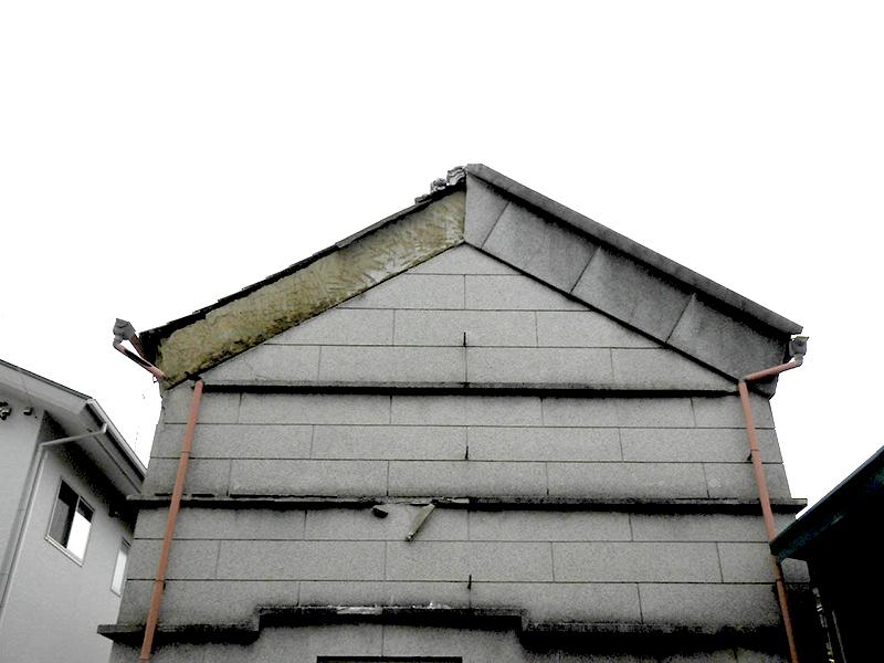蔵の外壁修繕前