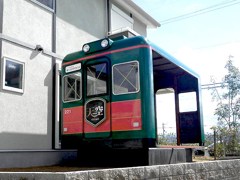 南海鉄道電車の小屋